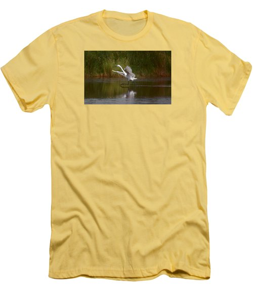 Men's T-Shirt (Slim Fit) featuring the photograph Twinkle Toes by Leticia Latocki