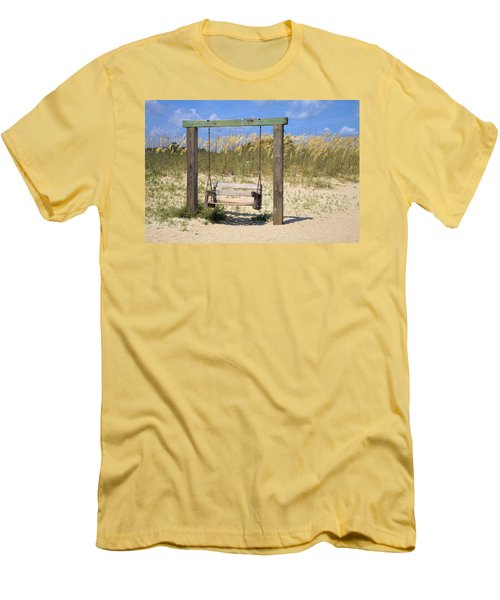Tybee Island Swing Men's T-Shirt (Athletic Fit)