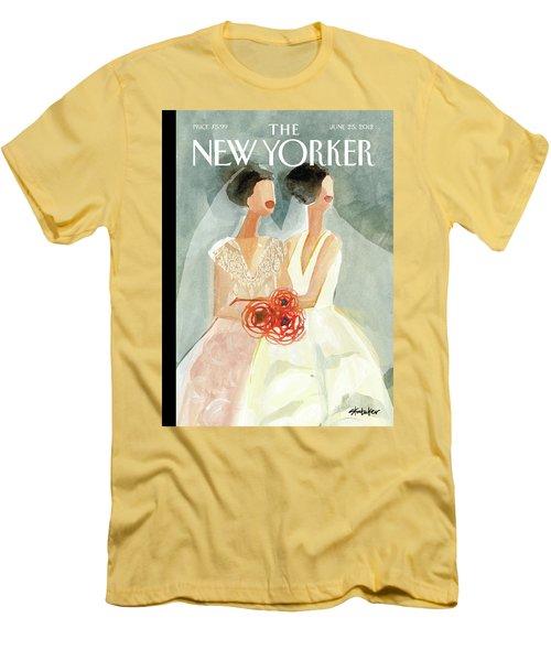 June Brides Men's T-Shirt (Athletic Fit)