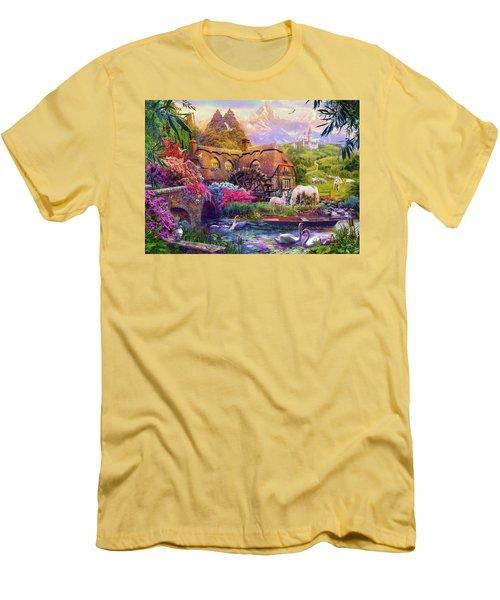 Men's T-Shirt (Slim Fit) featuring the photograph Light Palace by Jan Patrik Krasny