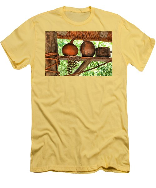Up On A Shelf Men's T-Shirt (Slim Fit)