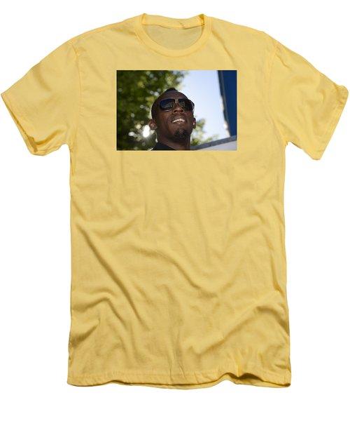 Usain Bolt - The Legend 1 Men's T-Shirt (Slim Fit) by Teo SITCHET-KANDA