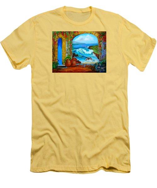 Veranda Ocean View Men's T-Shirt (Athletic Fit)