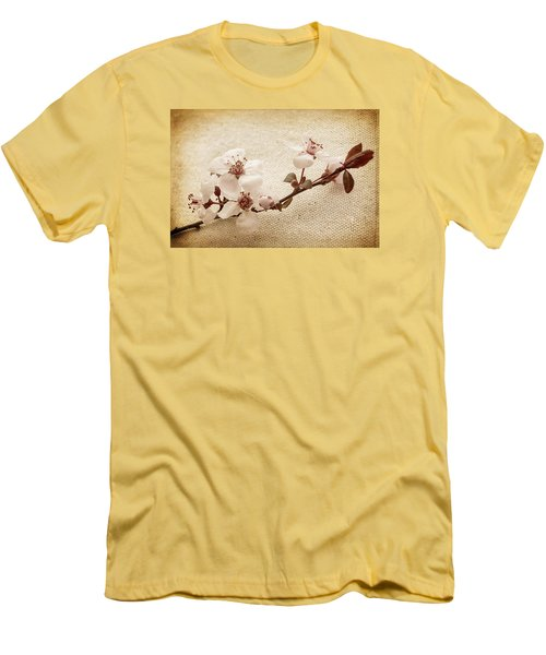 Vintage Blossoms Men's T-Shirt (Athletic Fit)