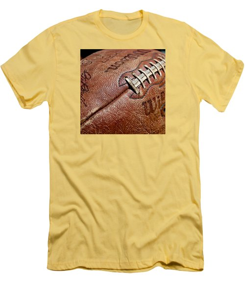 Vintage Football Men's T-Shirt (Slim Fit) by Art Block Collections