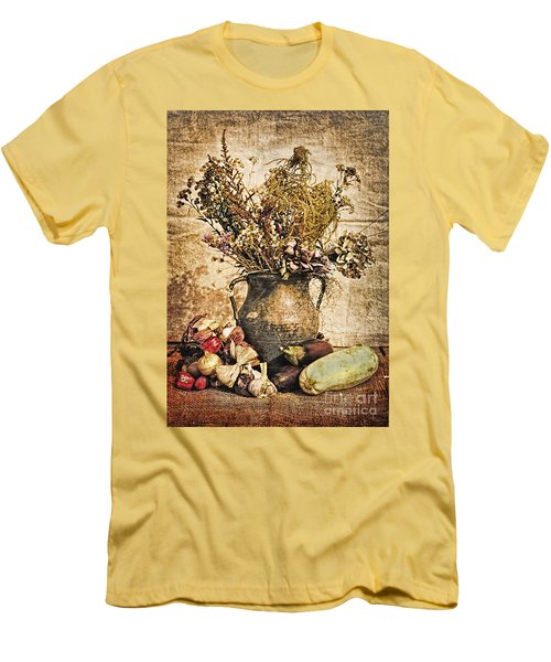 Vintage Still Life - Antique Grunge Men's T-Shirt (Athletic Fit)