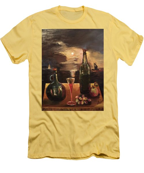 Vintage Wine Men's T-Shirt (Athletic Fit)