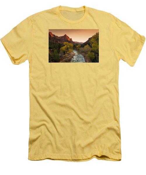 Virgin River Men's T-Shirt (Slim Fit) by Tassanee Angiolillo