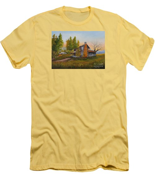 Walker Homeplace #3 Men's T-Shirt (Athletic Fit)