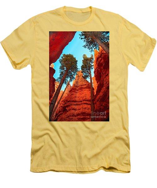 Wall Street Men's T-Shirt (Slim Fit) by Robert Bales