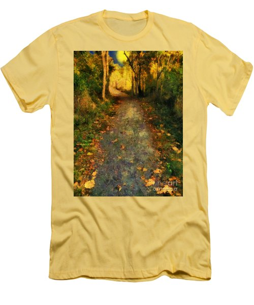 Washed In Gold Men's T-Shirt (Slim Fit) by RC deWinter