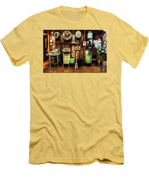 Washing Machines Of Yesteryear Men's T-Shirt (Athletic Fit)