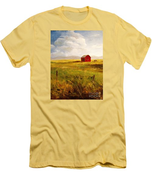 Western Barn Men's T-Shirt (Athletic Fit)