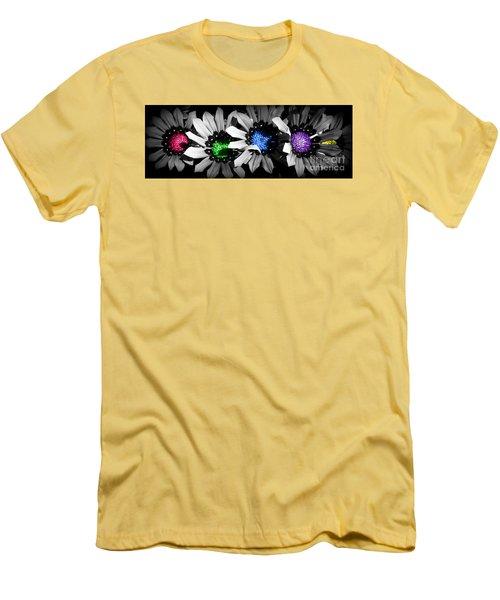 Colored Blind Men's T-Shirt (Athletic Fit)