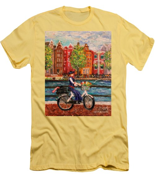 Where To ... Amsterdam Men's T-Shirt (Athletic Fit)