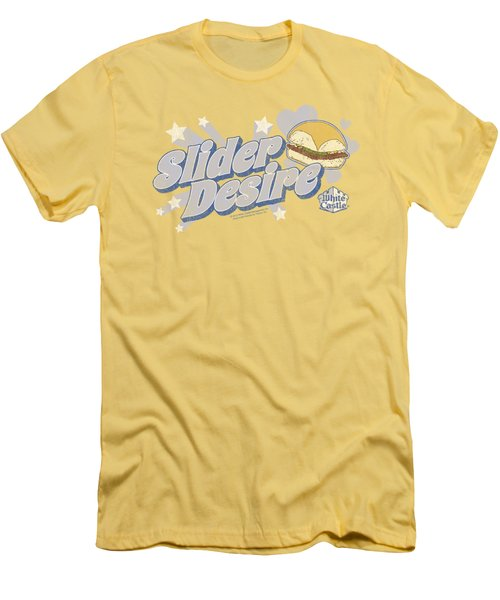 White Castle - Slider Desire Men's T-Shirt (Athletic Fit)