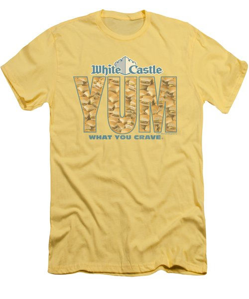 White Castle - Yum Men's T-Shirt (Athletic Fit)