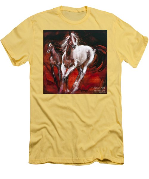White Knight Men's T-Shirt (Athletic Fit)