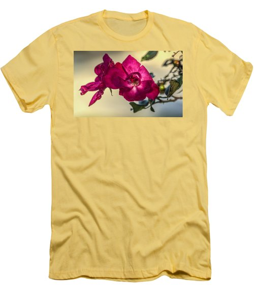 Wild Rose Men's T-Shirt (Athletic Fit)