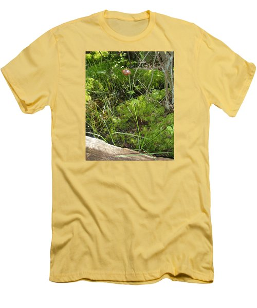 Men's T-Shirt (Slim Fit) featuring the photograph Wildflower 1 by Robert Nickologianis