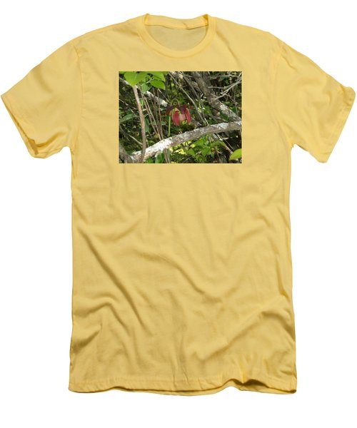 Men's T-Shirt (Slim Fit) featuring the photograph Wildflower by Robert Nickologianis
