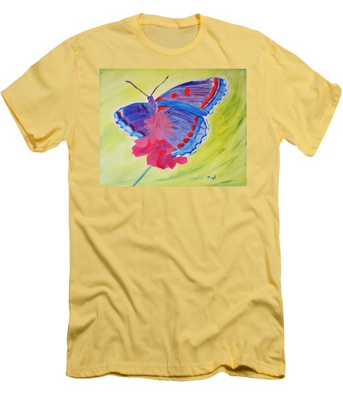 Winged Delight Men's T-Shirt (Athletic Fit)