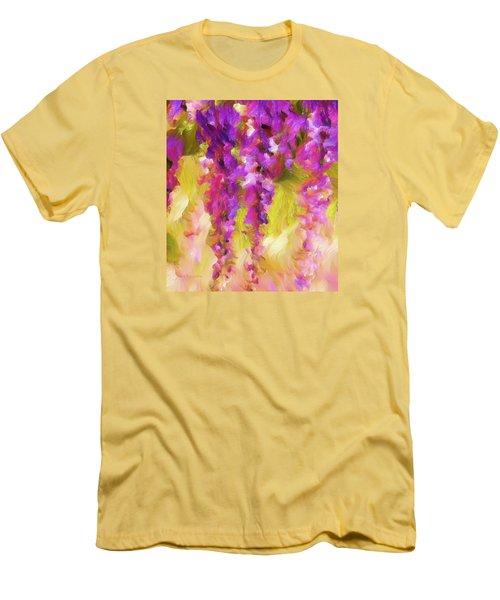 Wisteria Dreams Men's T-Shirt (Athletic Fit)