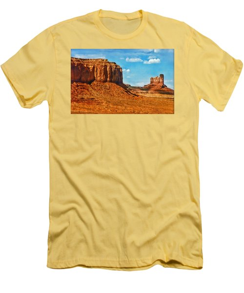 Men's T-Shirt (Slim Fit) featuring the photograph Witnesses Of Time by Hanny Heim