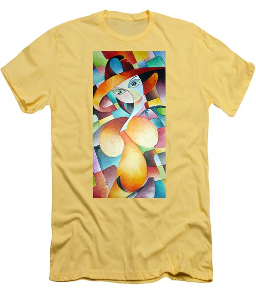 Woman Men's T-Shirt (Slim Fit) by Dorothy Maier