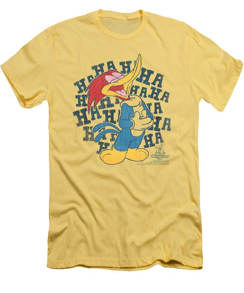 Woody Woodpecker - Laugh It Up Men's T-Shirt (Athletic Fit)