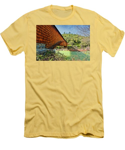 Men's T-Shirt (Slim Fit) featuring the photograph Yuba State Park by Jim Thompson