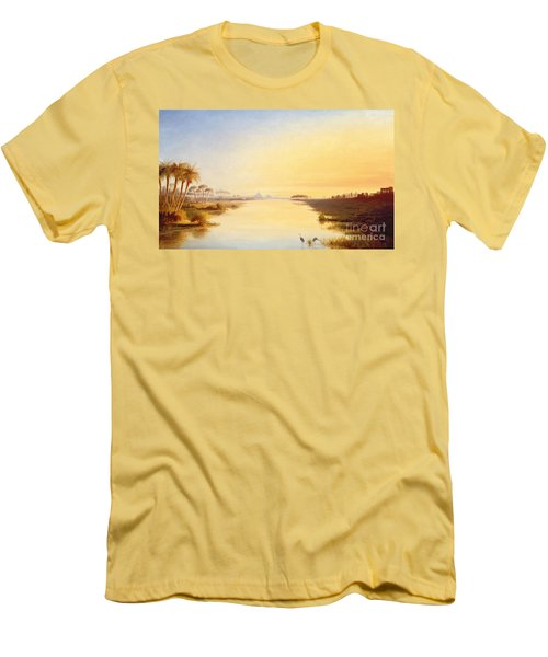 Egyptian Oasis Men's T-Shirt (Athletic Fit)
