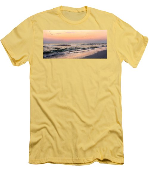 Postcard Men's T-Shirt (Athletic Fit)