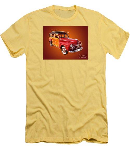 1947 Woody Men's T-Shirt (Slim Fit) by Jim Carrell