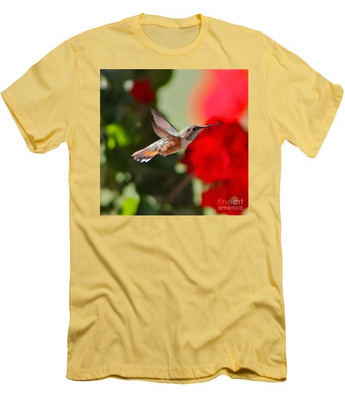 Hummingbird 3 Men's T-Shirt (Athletic Fit)
