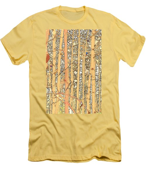 Abstract Aspens Men's T-Shirt (Athletic Fit)
