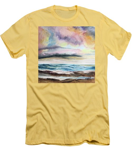 Afternoon Sky Men's T-Shirt (Athletic Fit)