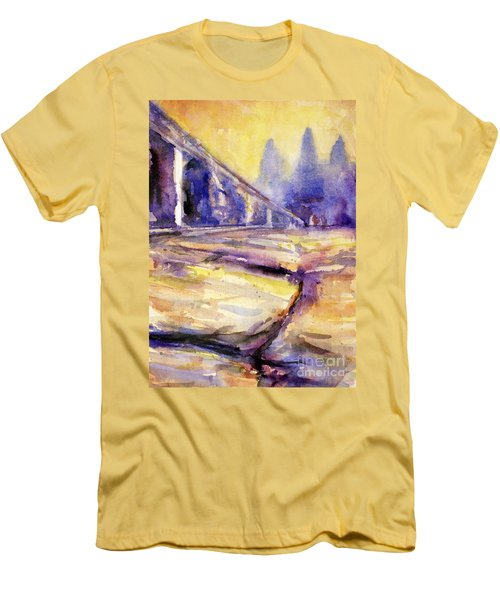 Angkor Wat Sunrise 3 Men's T-Shirt (Athletic Fit)