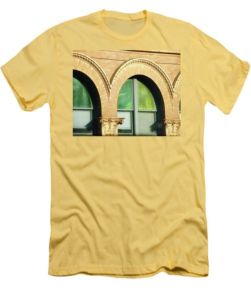 Men's T-Shirt (Slim Fit) featuring the photograph Architecture Memphis by Lizi Beard-Ward