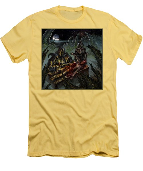 Autopsy Of The Damned  Men's T-Shirt (Slim Fit) by Tony Koehl