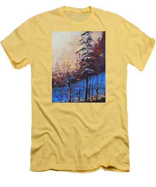 Autumn Silence Men's T-Shirt (Athletic Fit)
