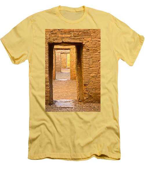 Doorway Chaco Canyon Men's T-Shirt (Athletic Fit)
