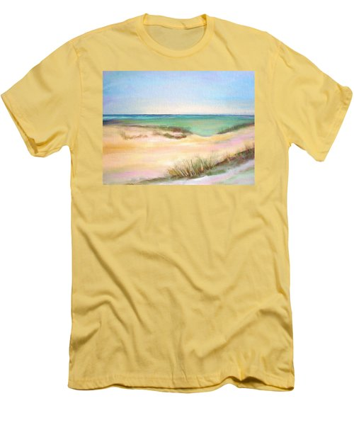 Easy Breezy Men's T-Shirt (Slim Fit) by Patricia Piffath