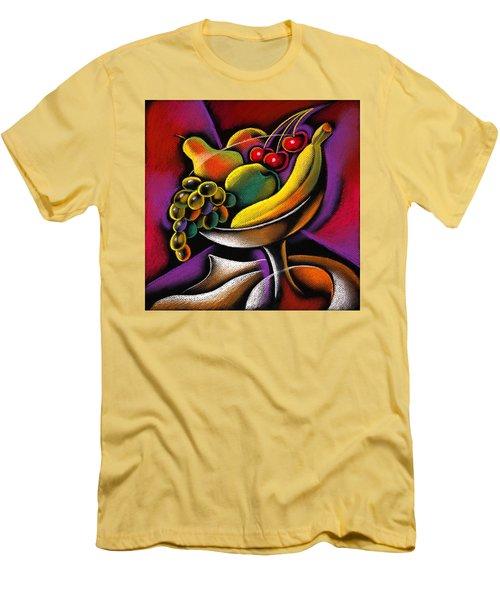 Fruits Men's T-Shirt (Slim Fit) by Leon Zernitsky