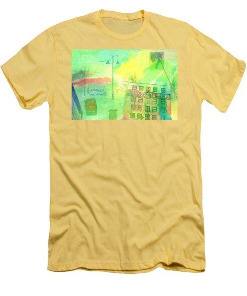 Going Places Men's T-Shirt (Slim Fit) by Susan Stone