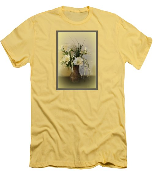 Men's T-Shirt (Slim Fit) featuring the photograph Happiness by Sherri  Of Palm Springs