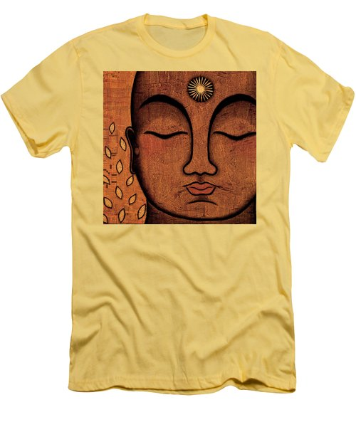 Men's T-Shirt (Slim Fit) featuring the painting He Knows by Gloria Rothrock