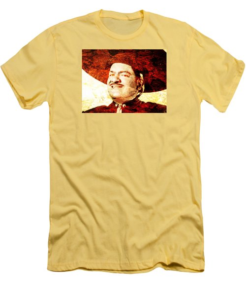 Jose Alfredo Jimenez Men's T-Shirt (Slim Fit) by J- J- Espinoza