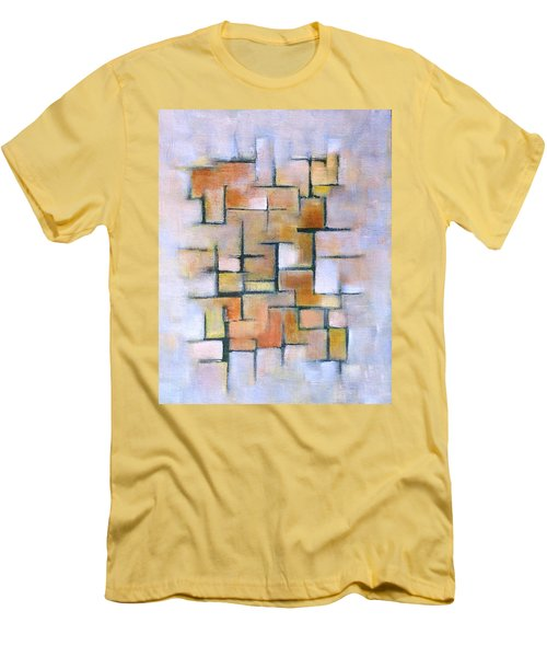 Line Series Men's T-Shirt (Slim Fit) by Patricia Cleasby