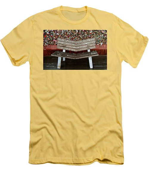 Locks Of Love 2 Men's T-Shirt (Slim Fit) by Kume Bryant
